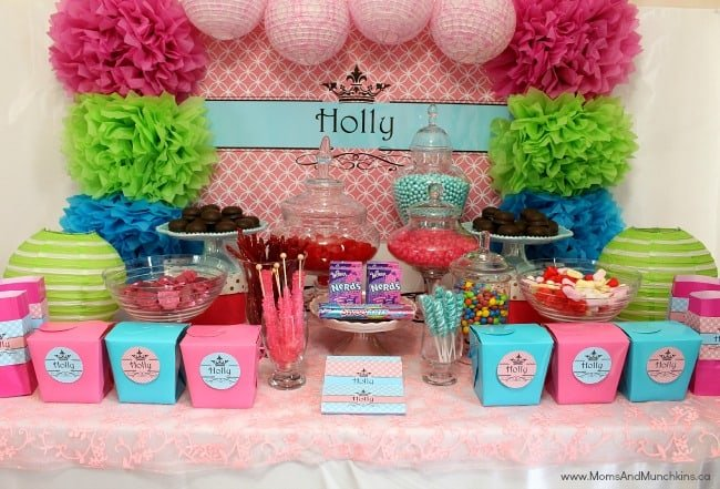 How To Plan A Candy Buffet