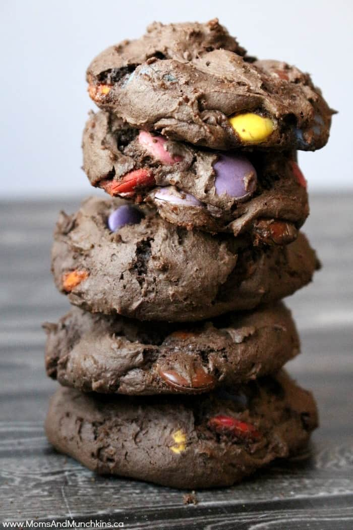 Chocolate Candy Bar Cookies