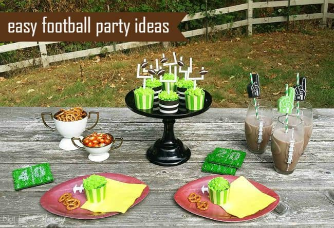 Easy Football Party Ideas