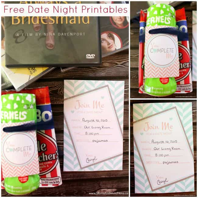 Free Date Night Printables