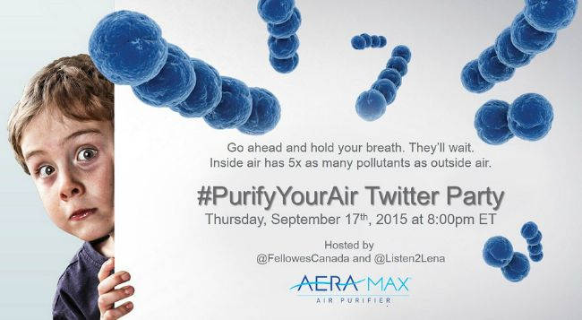 Purify Your Air Twitter Party