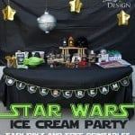 Star Wars Ice Cream Party