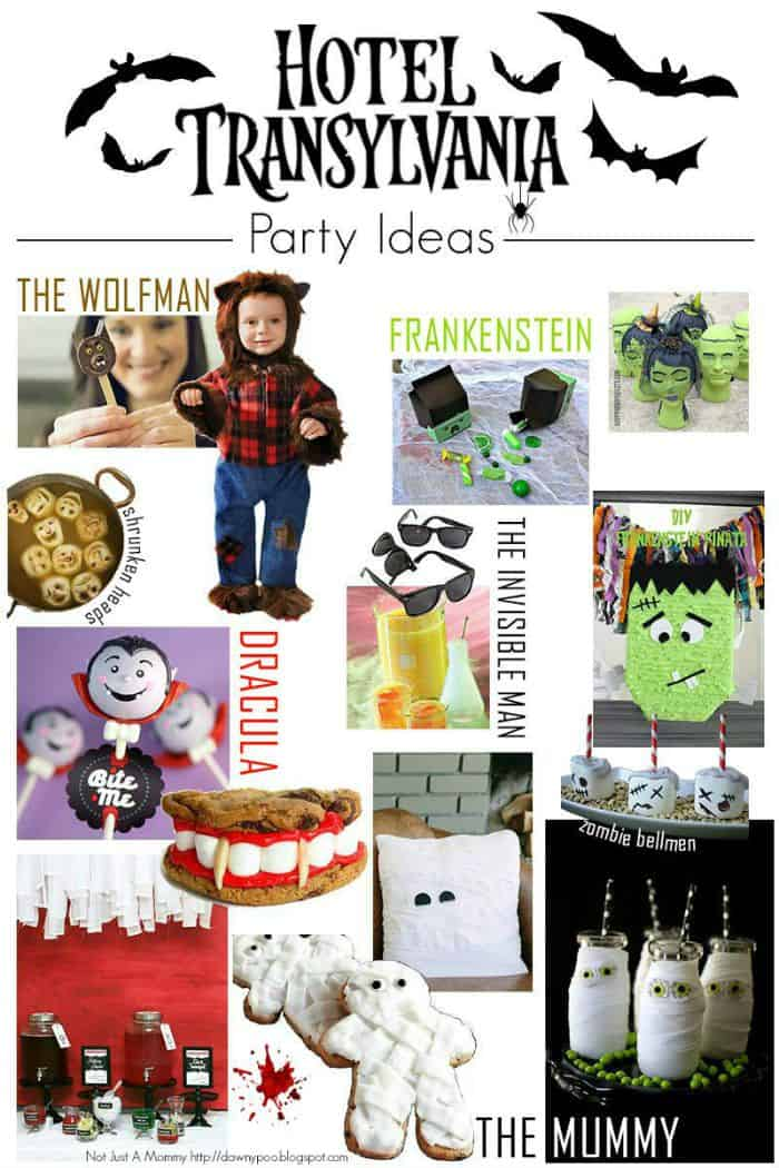 Hotel Transylvania Party Ideas on Halloween Birthday Party Activities