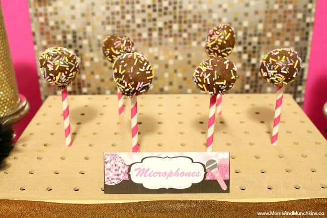 Karaoke Party Ideas And Printables Moms Amp Munchkins