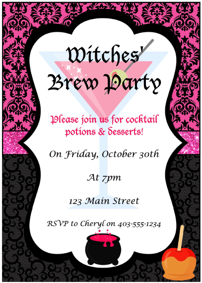 Witches' Brew Party