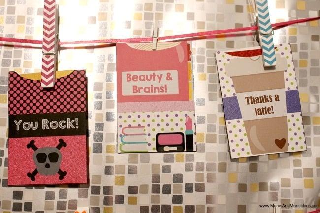 Free Printable Gift Card Holders