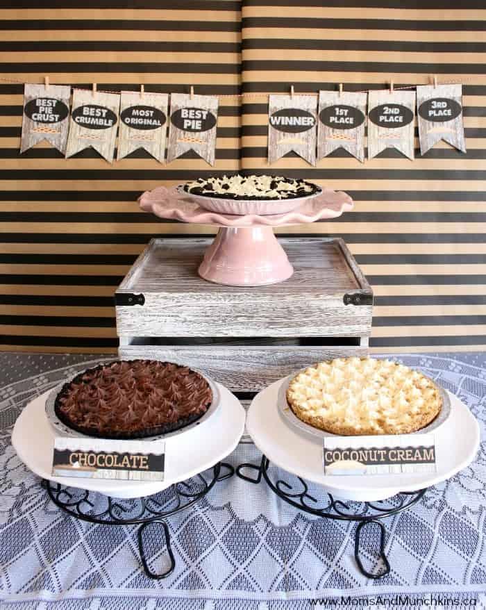 Pie Baking Contest Ideas