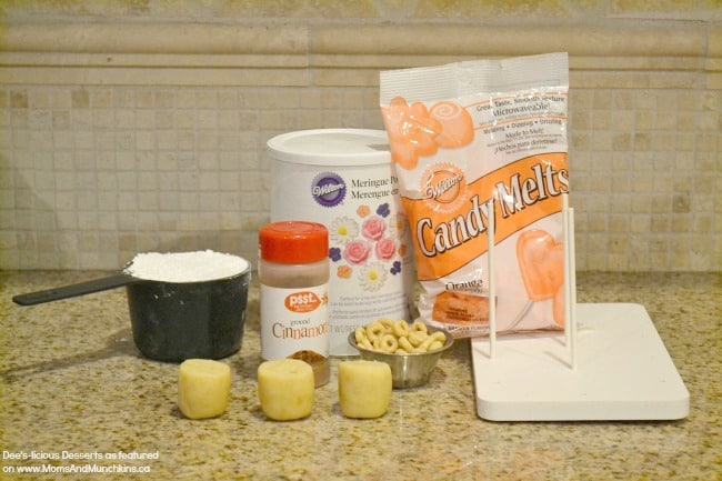 Pumpkin Spice Latte Cake Pops