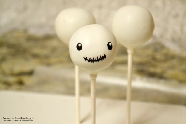 Skeleton Head Cake Pops