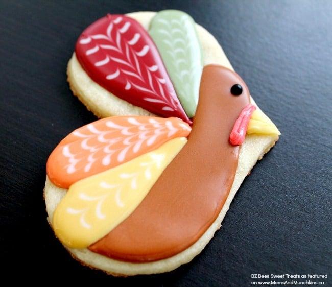 Cute Turkey Cookie Tutorial