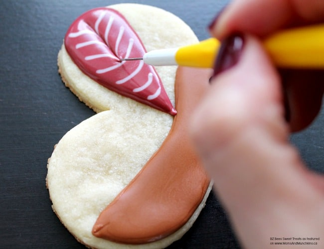 Cute Turkey Cookie Tutorial