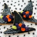 Witch Hat Cookies Tutorial