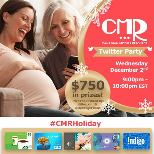 CMRHoliday Twitter Party