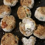 Cheese Stuffed Chicken Meatballs