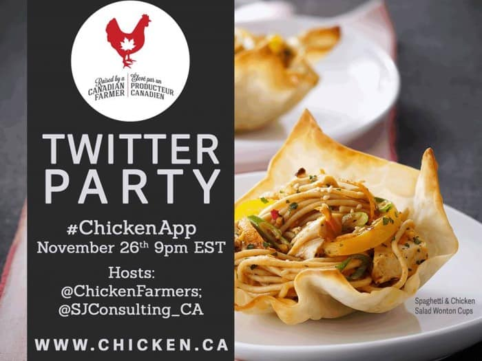 ChickenApp Twitter Party