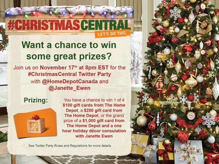 ChristmasCentral Twitter Party