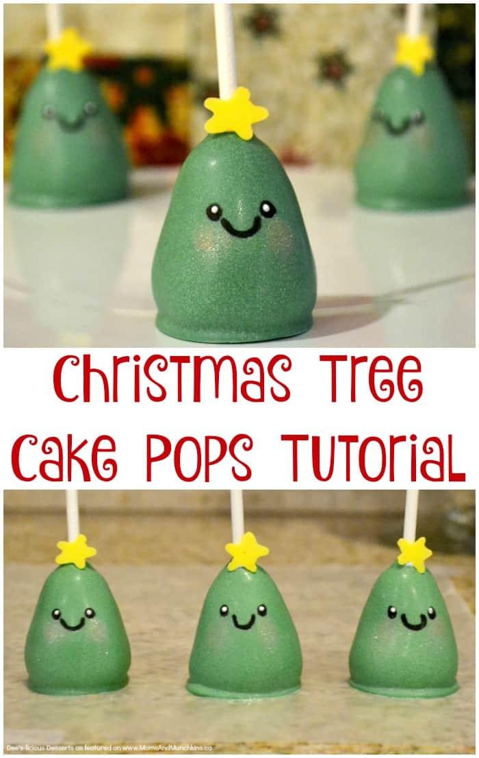 Christmas Tree Cake Pop Tutorial