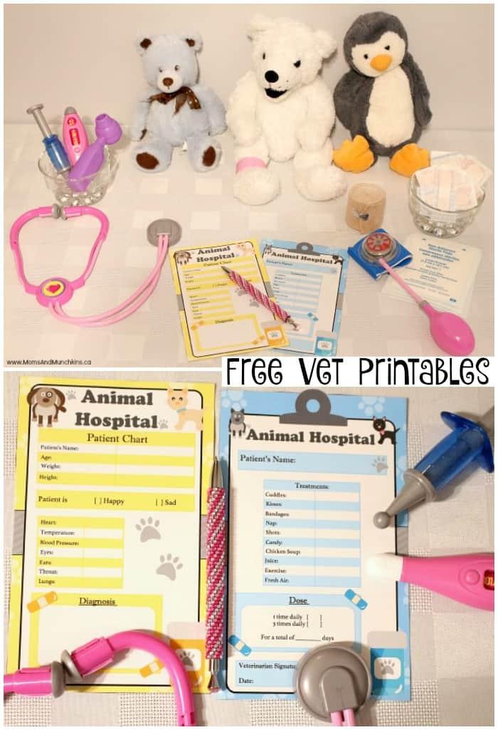 Free Vet Printables