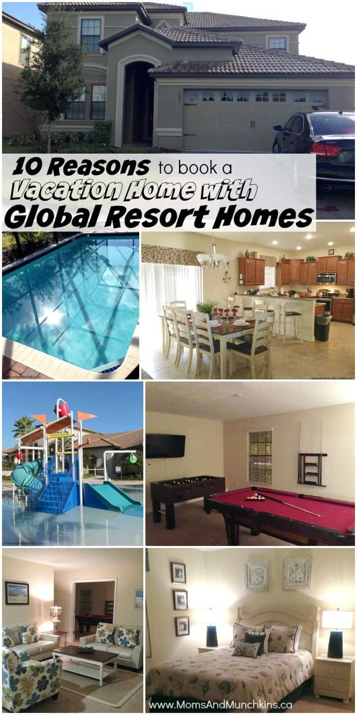 Reasons to book with Global Resort Homes