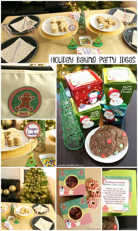 Holiday Baking Party For Kids Moms Munchkins Bloglovin