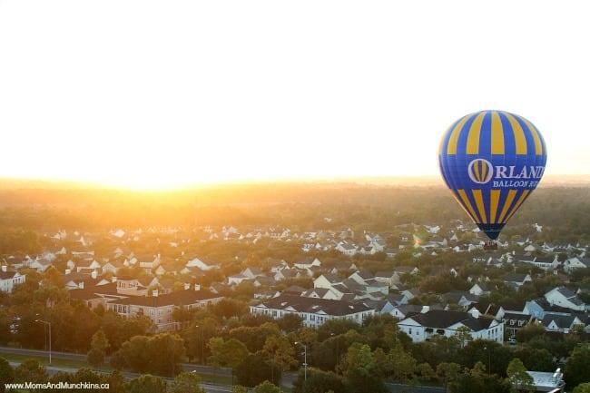 Hot Air Balloon Rides Orlando