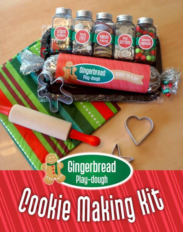 Gingerbread Play-Dough Recipe