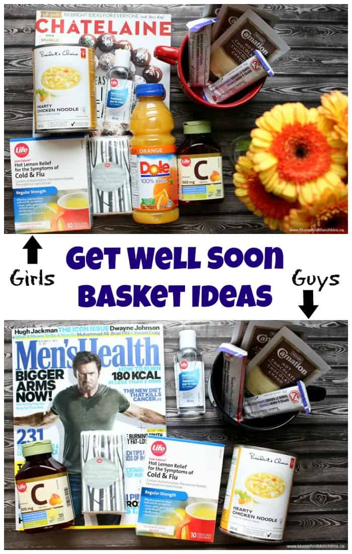 Get Well Soon Basket Ideas