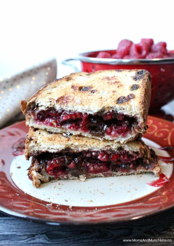 Chocolate Raspberry Panini