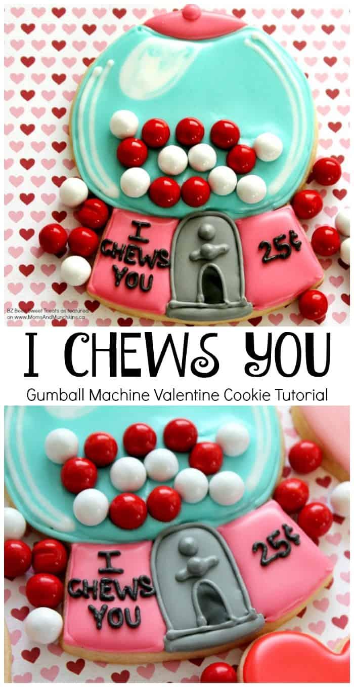 Gumball Machine Cookies