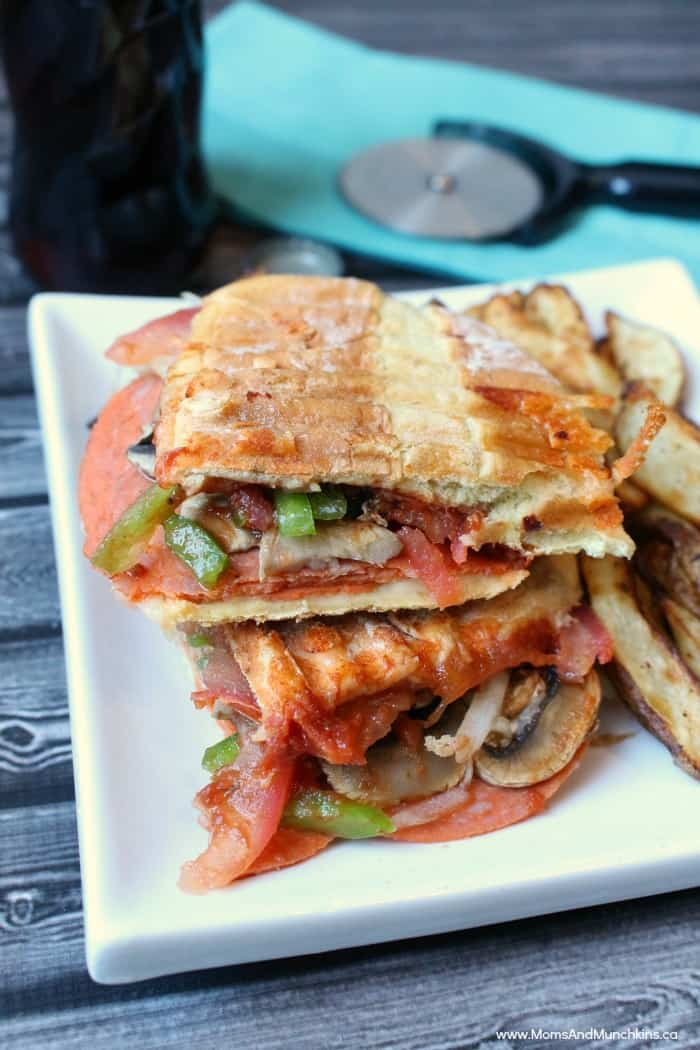Pizza Panini Recipe