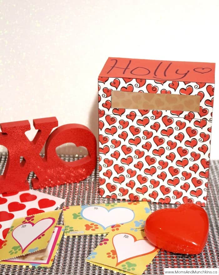 Free Printable Valentine's Day Mailbox