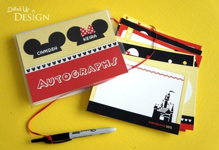 DIY Disney Autograph Books