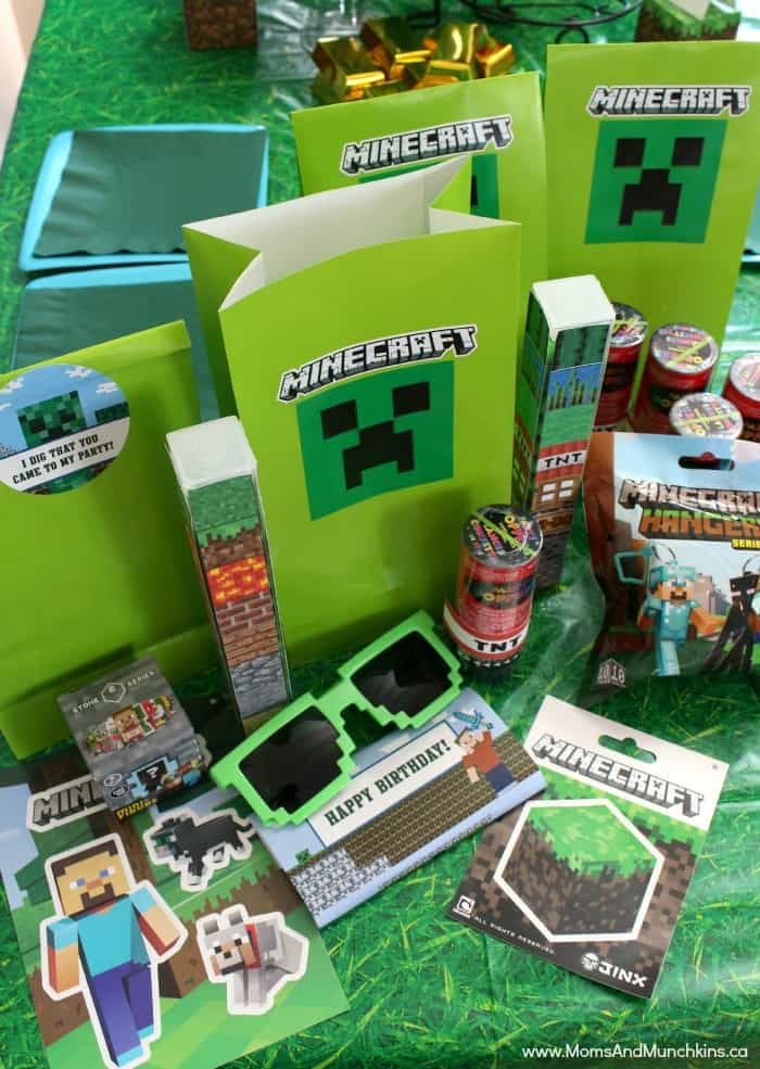 Minecraft Favors