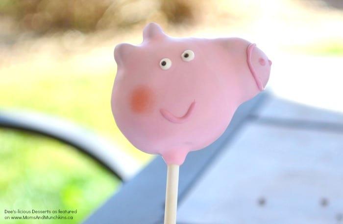 How To Make Pig Shaped Cake Pops