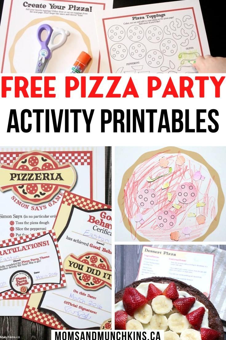 Free Babysitting Activity Printable
