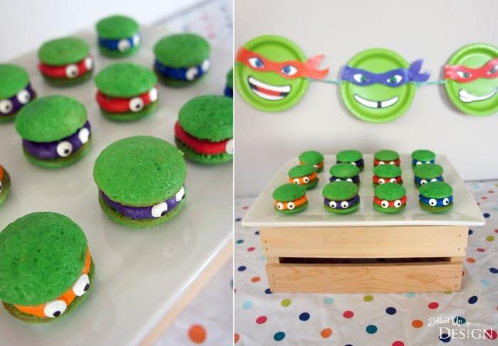 Ninja Turtle Party Dessert