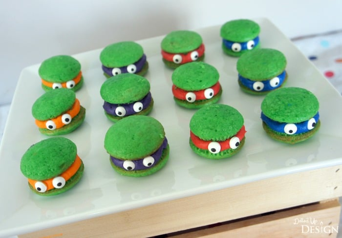 Bake Up Some Ninja Turtle Cupcake Poppers: