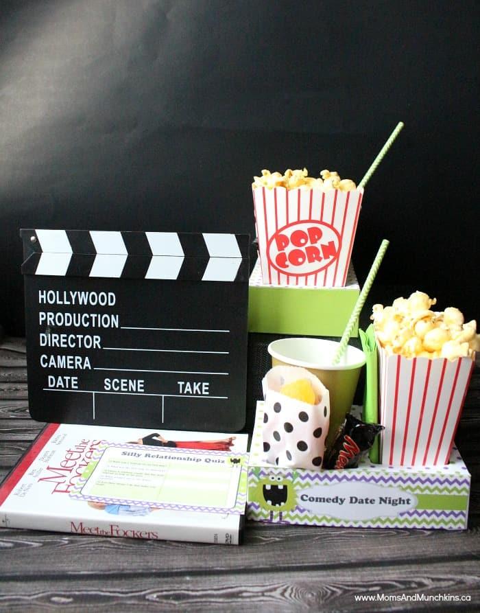 date night at home idea check out this comedy movie night date
