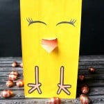 Easter Chick Bag Printables