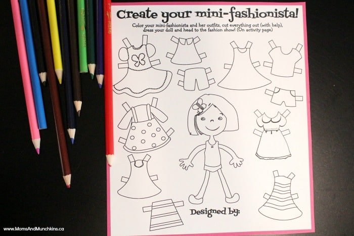 Fashion Crafts For Kids