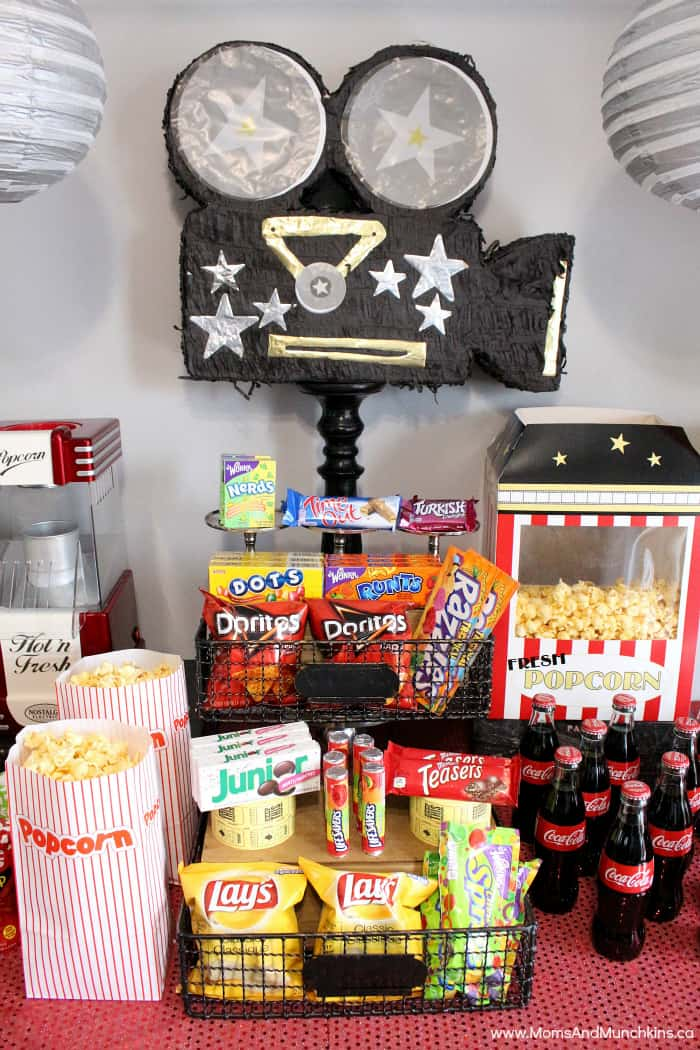 Movie Night Party Ideas Moms Munchkins