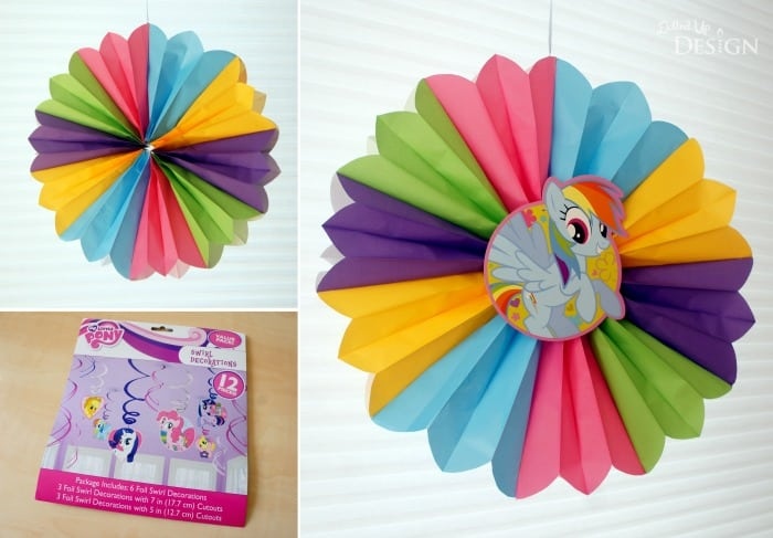 DIY Paper Bag Party Fans