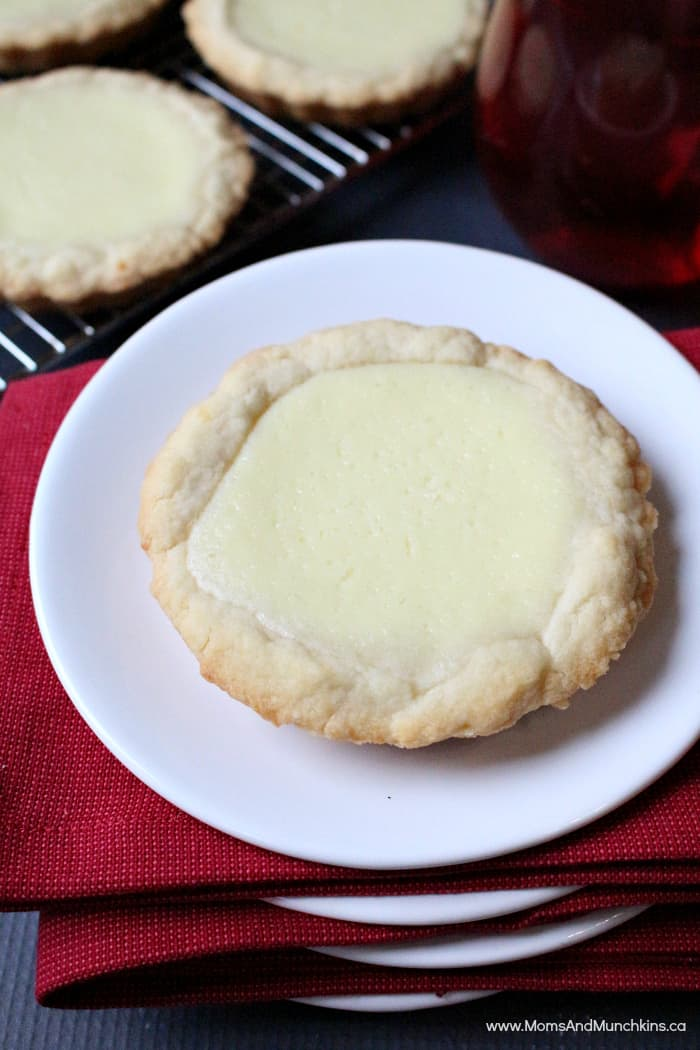 Key Lime Cheesecake Tarts - Delicious Party Recipes