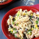 Southwest Chicken Pasta Salad - Delicious Party Recipes