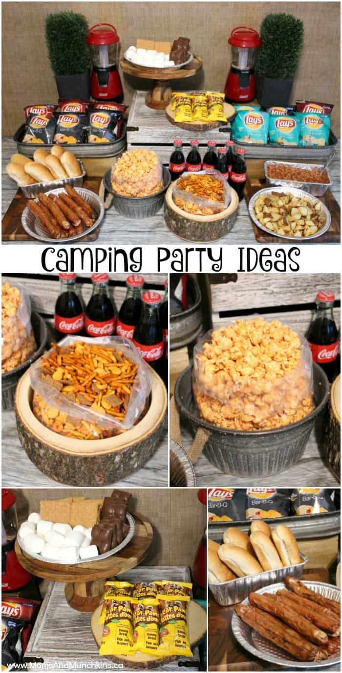 Camping Party Ideas For Birthdays