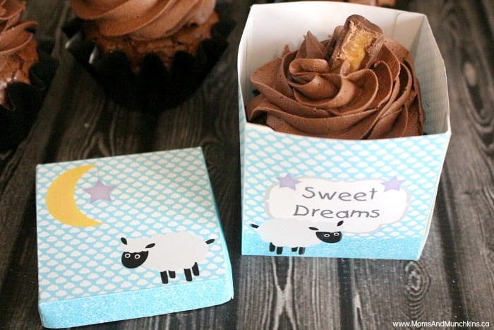 Free Printable Baby Shower Favor Box