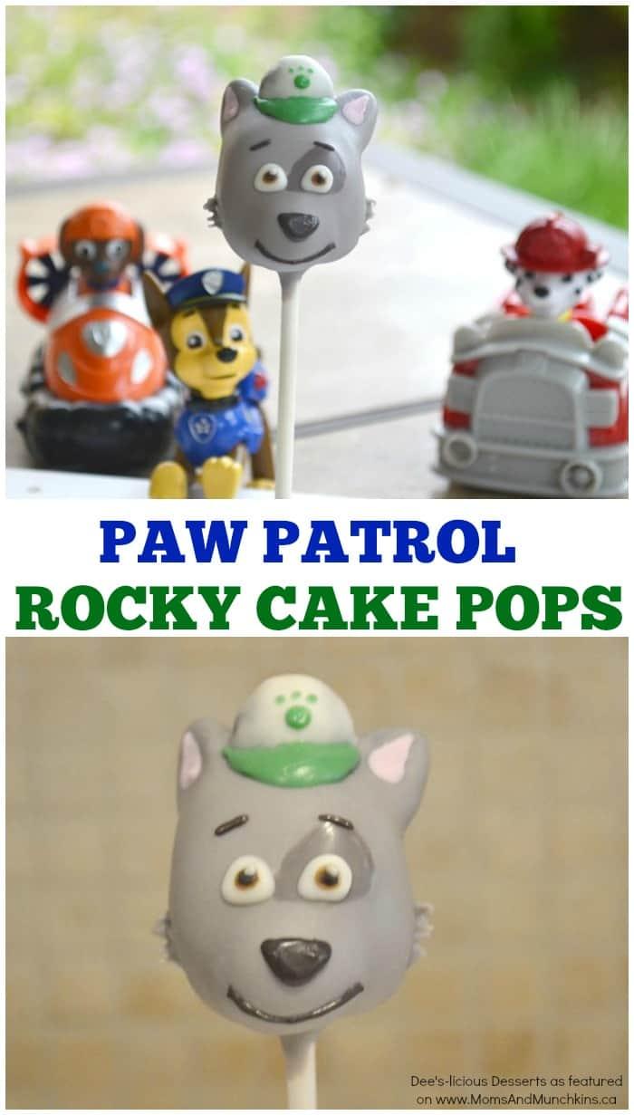 PAW Patrol Cake Pops