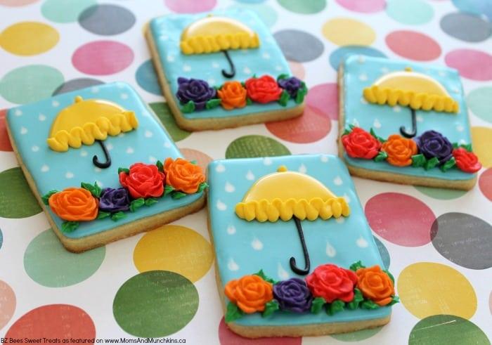 Rain Showers Cookies