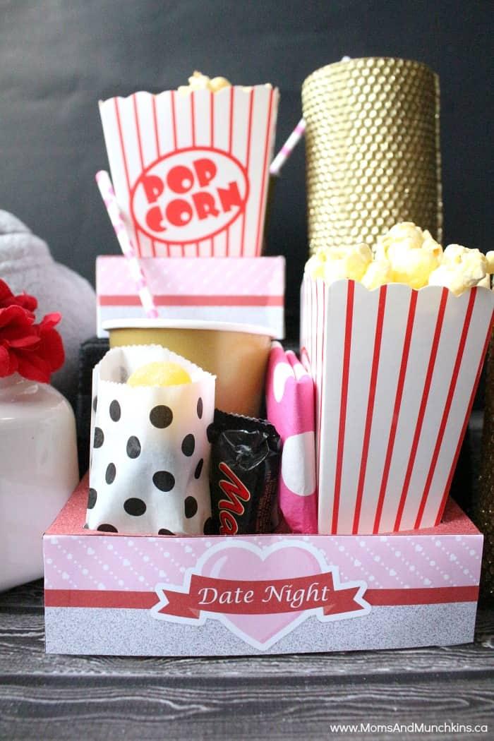 Romantic Date Night Free Printables