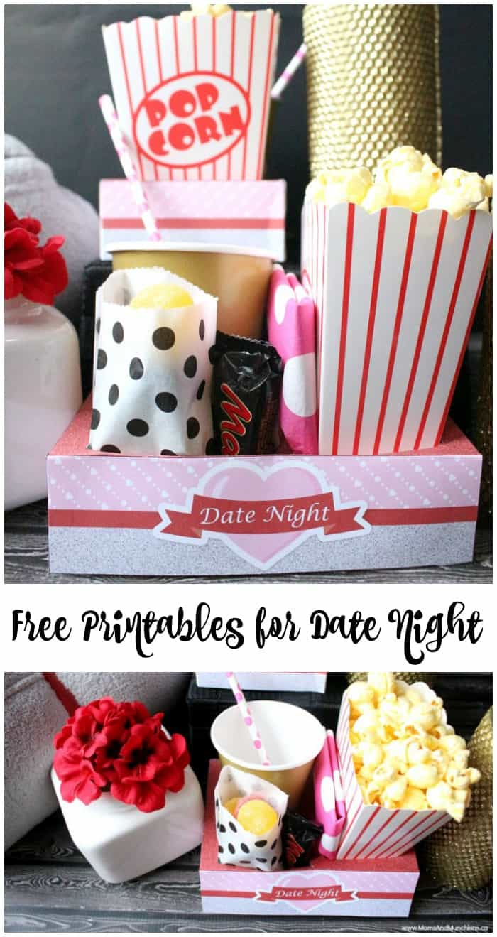 Romantic Date Night Free Printables